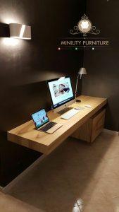 meja kerja model terbaru minimalis