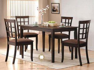 meja makan simpel minimalis jati jepara
