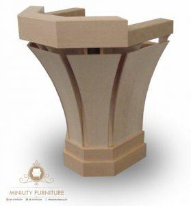 mimbar kayu jati model terbaru modern