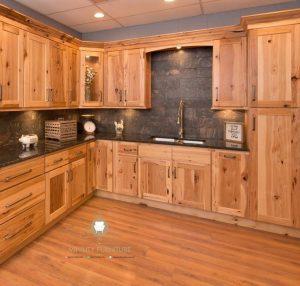 model kitchen set klasik kayu jati