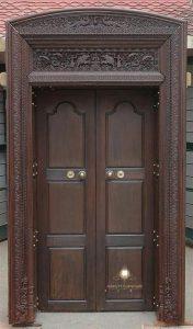 model pintu rumah ukir klasik modern