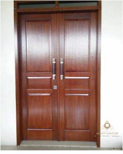 pintu rumah kayu jati minimalis jepara