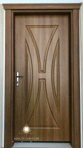 pintu rumah kayu jati minimalis terbaru