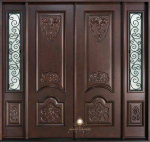 pintu rumah ukir model klasik