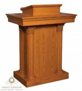 podium minimalis model terbaru jepara