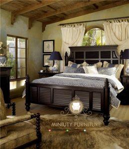 ranjang tidur italia kayu jati jepara