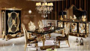 set dining room klasik elegant modern