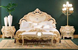 set kamar tidur mewah elegant model terbaru