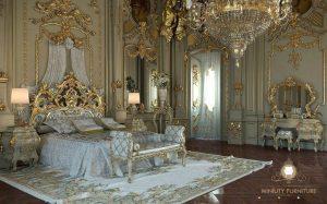 set kamar tidur mewah modern victoria terbaru