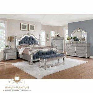 set kamar tidur modern elegant