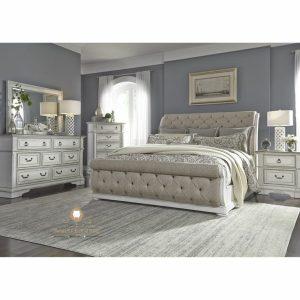 set kamar tidur modern elegant duco klasik
