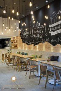set meja kursi cafe restoran minimalis kayu jati