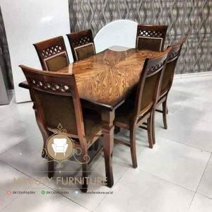set meja makan minimalis model terbaru
