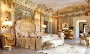 set room kamar tidur mewah ukiran jepara