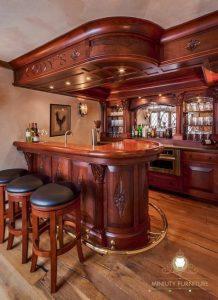 set room kitchen set kayu jati modern terbaru