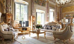 set room sofa tamu mewah modern eropan style