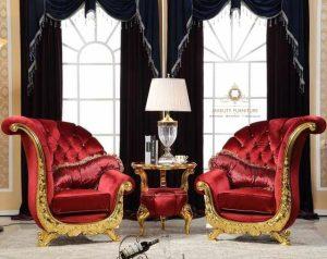 sofa keluarga model kupu jepara