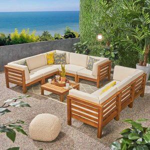 sofa tamu outdoor minimalis modern