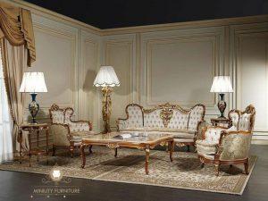 sofa tamu victoria mewah modern terbaru