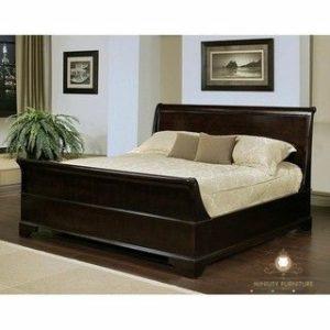 tempat tidur minimalis kayu jati jepara