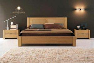 tempat tidur minimalis modern kayu jati jepara