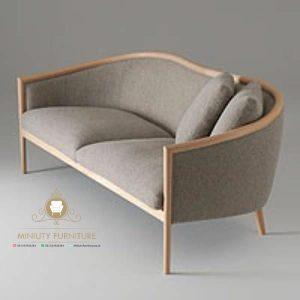 bangku sofa lengkung klasik modern