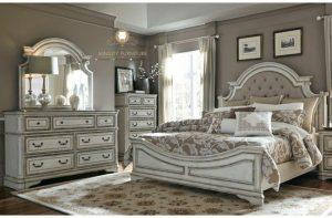 kamar set klasik duco putih modern