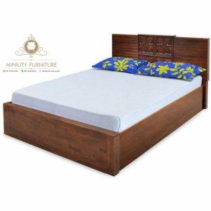 tempat tidur minimalis modern kayu jepara