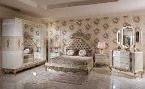 kamar tidur set mewah eropa style