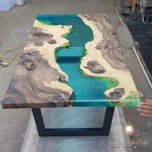 meja metting model resin