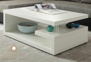 meja tamu duco putih