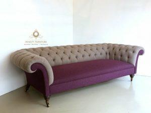 model bangku sofa retro modern