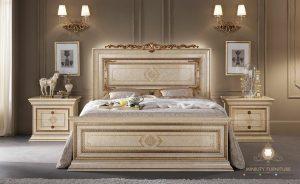 model tempat tidur mewah elegant