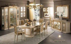 set ruang makan elegant turki arab