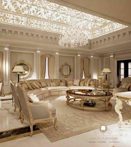 sofa tamu panjang mewah turki arabic