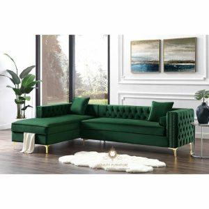 sofa tamu sudut minimalis modern