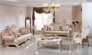sofa tamu ukir mewah modern turki arabic