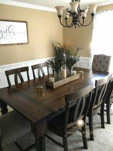 dining room set antique kayu jati model terbaru