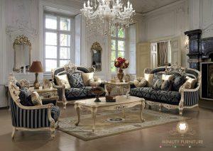living room sofa set ukir mewah elegant duco putih turki arabian