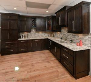 kitchen set dapur minimalis kayu terbaru jepara