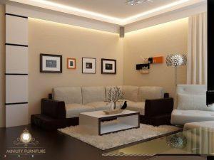 living room sofa modern elegant terbaru