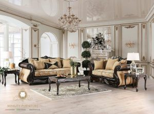 living room sofa ukir mewah elegant eropa style