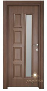 model pintu kamar minimalis modern kayu terbaru