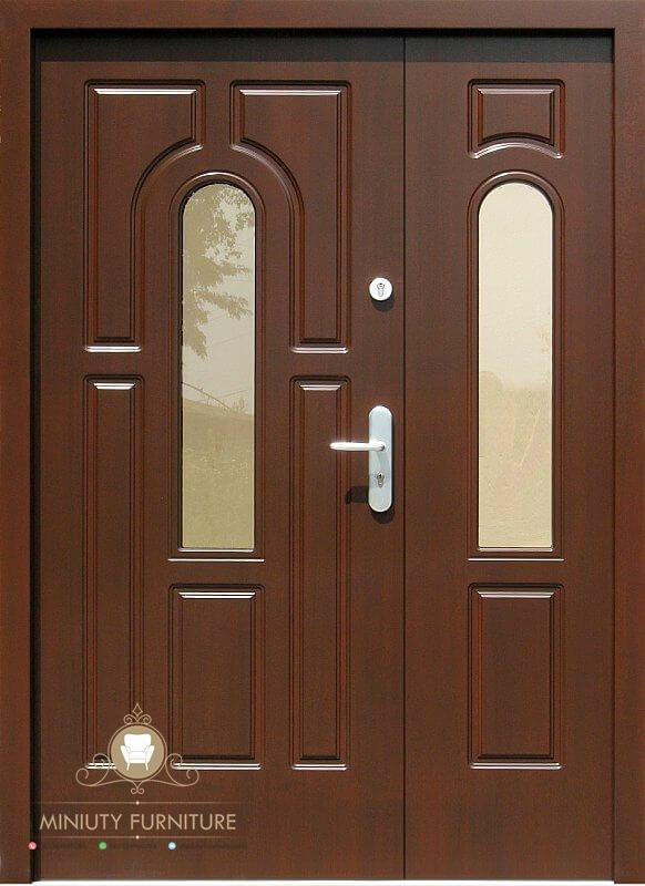 model pintu rumah minimalis modern kayu jati jepara ...