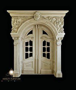 model pintu rumah super mewah ukiran kayu jati model terbaru