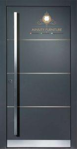 pintu rumah pintu kantor minimalis modern jepara