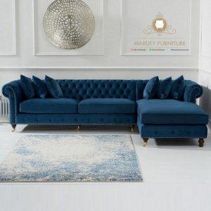 sofa keluarga model L modern