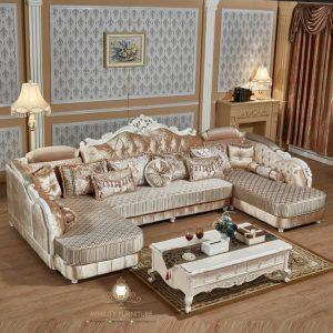sofa living room panjang elegant arab
