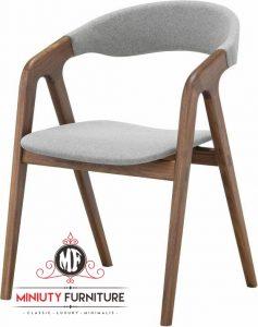 kursi cafe dan kursi restoran model terbaru kayu jepara