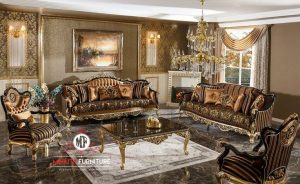 kursi sofa tamu ukir mewah elegant luxury eropean style terbaru